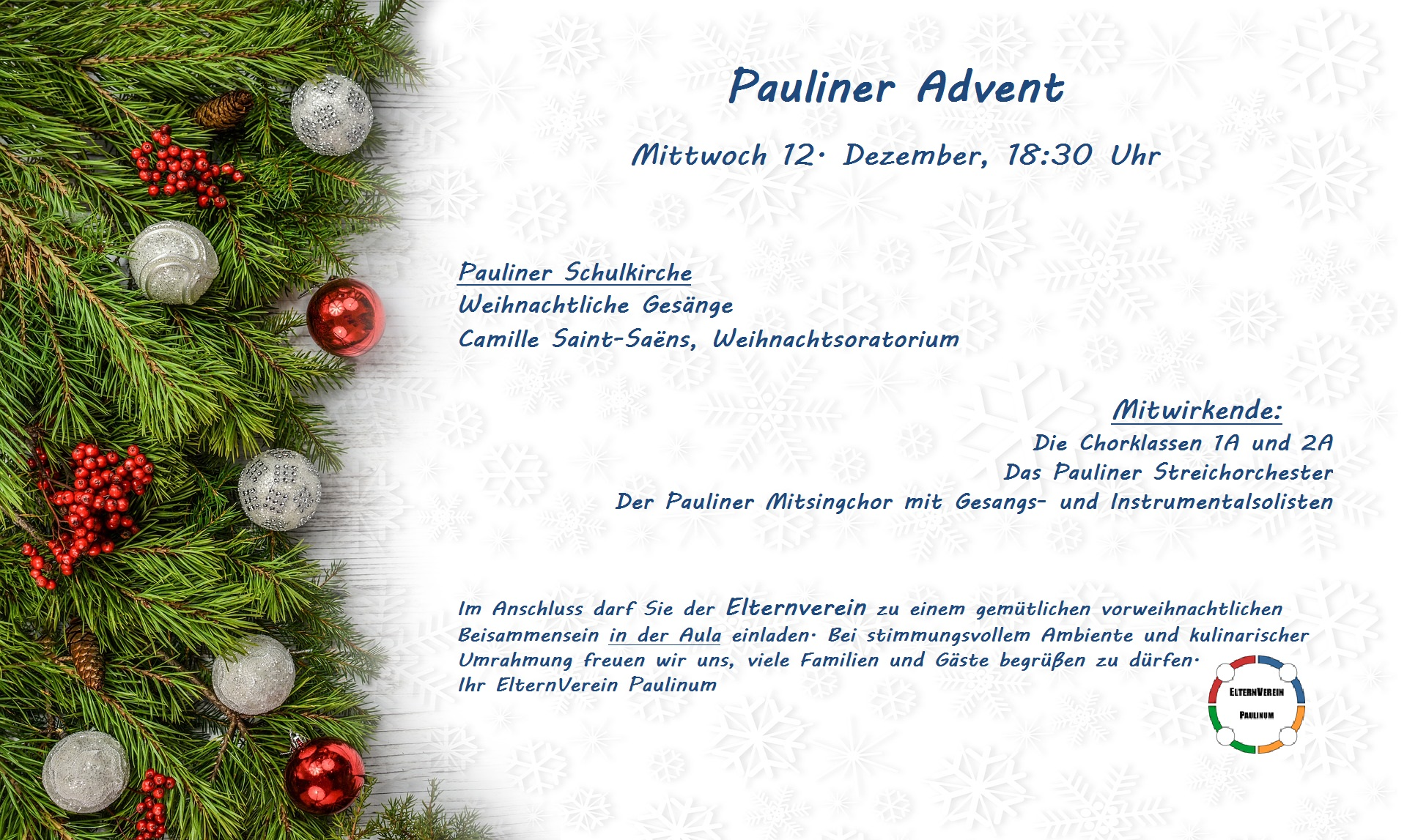Einladung Pauliner Advent 2018 Text3